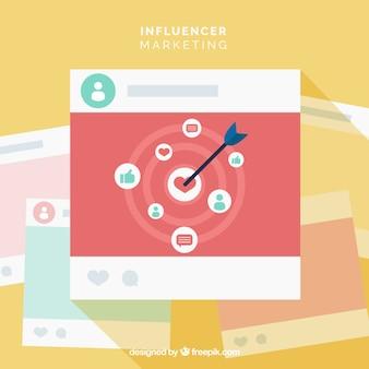 Influence marketing design with dart