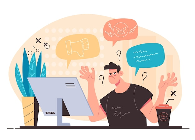 팔로워들로부터 부정적인 반응을 보이는 인플루언서 블로거
