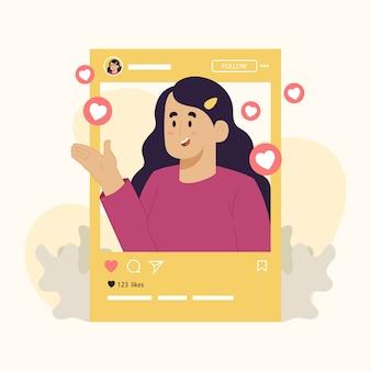 Обзор концепт-блогера influencer