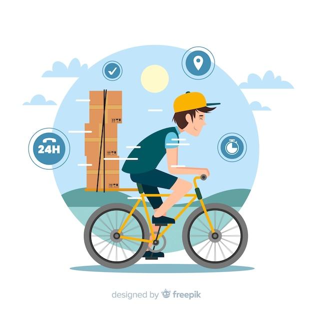 Influencer concept illustration