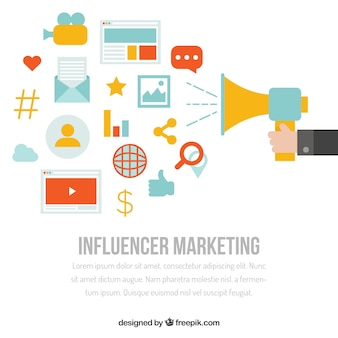 Influencer marketing design