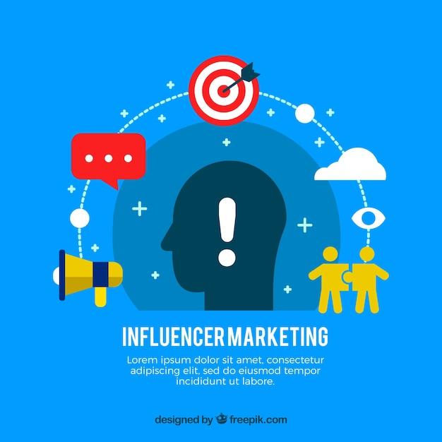 Influencer marketing design