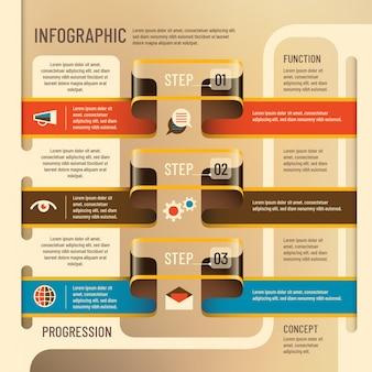 Info graphic background