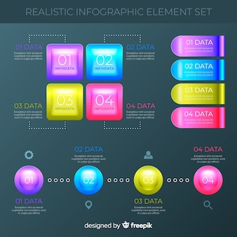 Infografic element collection
