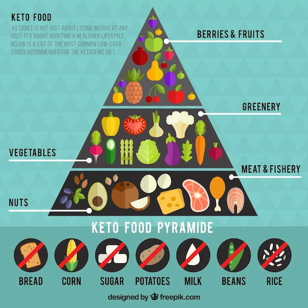 photo regarding Keto Food Pyramid Printable identified as Food items Pyramid Vectors, Illustrations or photos and PSD information Cost-free Down load