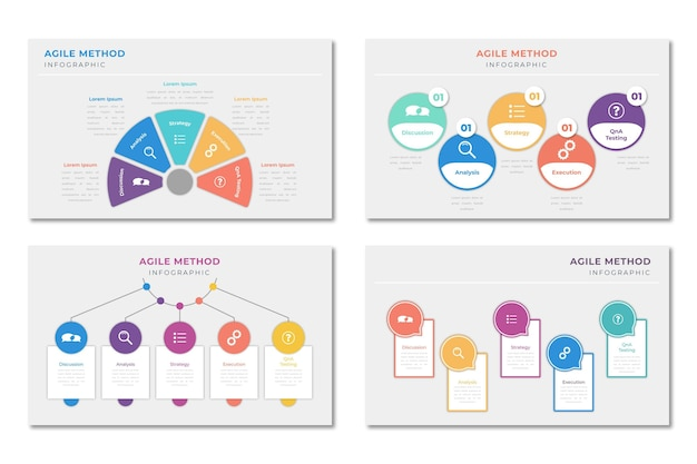 Infographic agile template
