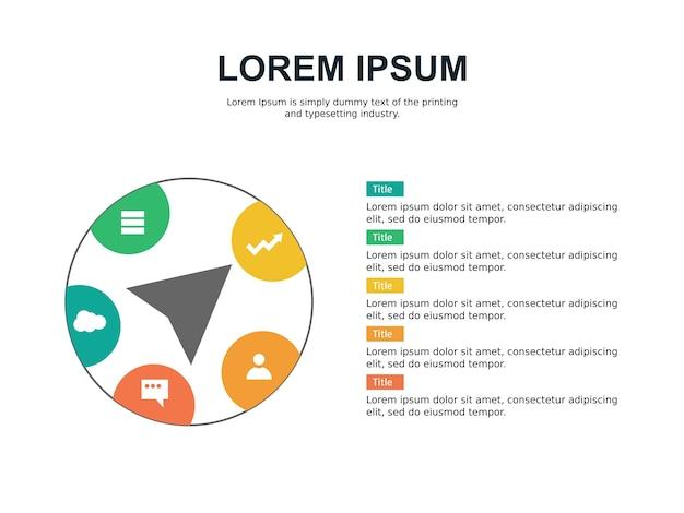 인포 그래픽 및 통계 슬라이드 템플릿 및 프리젠 테이션