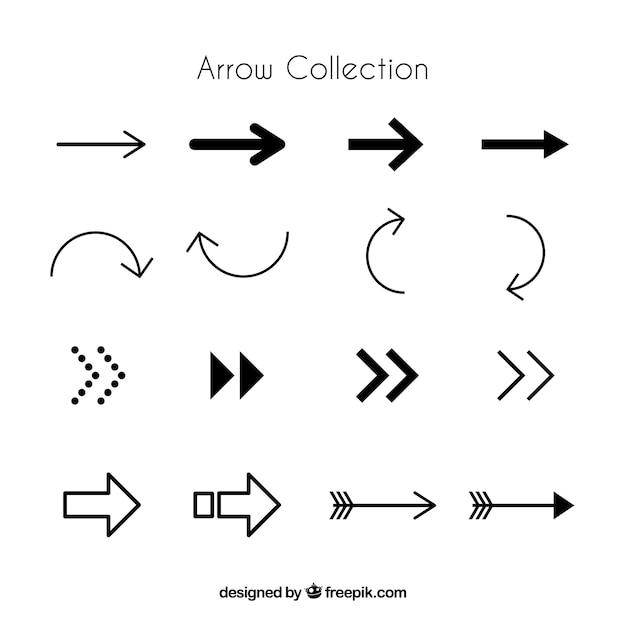 arrow vectors photos and psd files free download rh freepik com bow arrow vector art curved arrow vector art