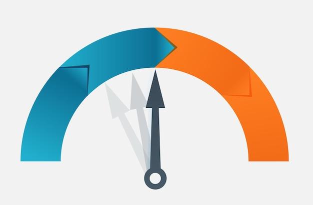 インフォグラフィックビジネステンプレートベクトル図