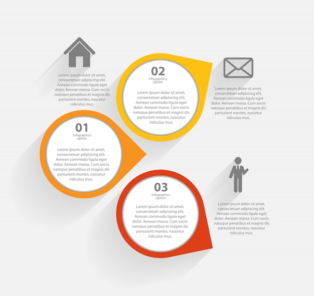 Инфографики бизнес шаблон