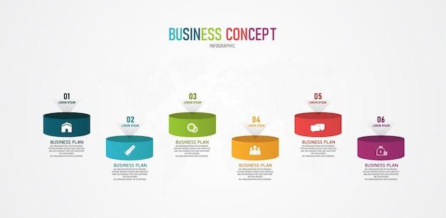 Инфографика может использоваться для процесса, презентаций, макета, баннера, информационного графика