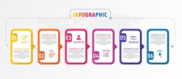 インフォグラフィックは、プレゼンテーションプロセス、概要、バナー、グラフ、レイヤーに使用できます。