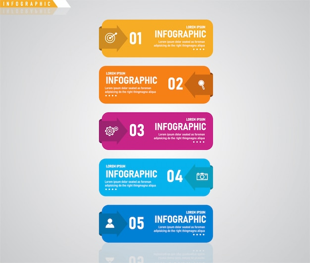 Infographic, can be used for the presentation process, outline, banner, graph, data layer