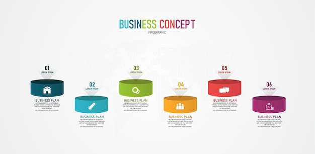 Infographic can be used for process, presentations, layout, banner,info graph