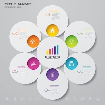 Infographic chart for data presentation.
