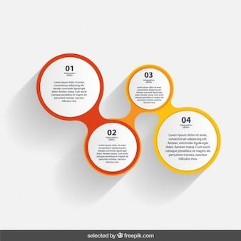 Infographic circles