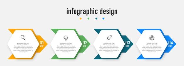Infographic design element