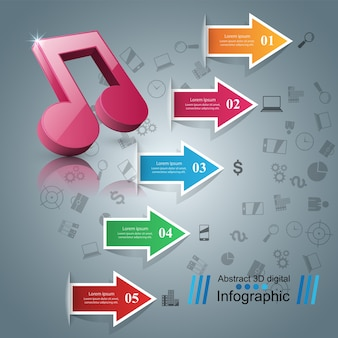 Infographic 디자인 서식 파일 및 마케팅 아이콘입니다.