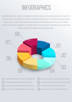 Infographic design template. business concept.