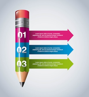 Infographic education design