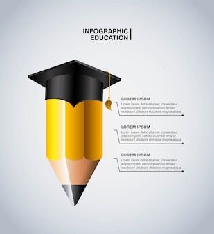 Infographic education design