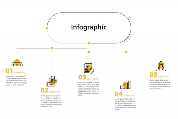 Infographic element design