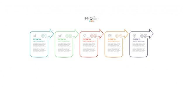 Инфографический элемент с шагами. может использоваться для процесса, презентации, диаграммы, макета рабочего процесса, информационного графика, веб-дизайна.