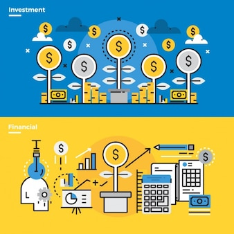 Infographic elements about business process