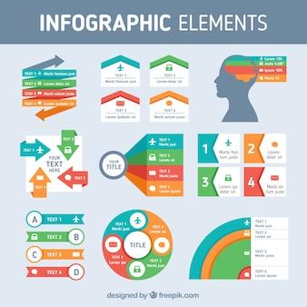 Сбор инфографических элементов
