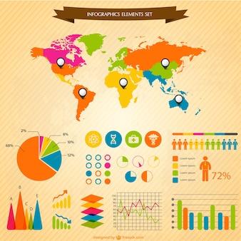 Infografica elementi di design