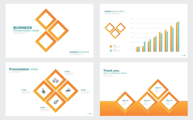 Infographic elements for presentation templates stock illustration abstract advice aiming annual