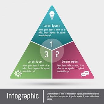 Infographic icon Premium Vector