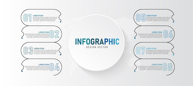 Infographic  illustration can be used for presentations processes layouts banners data graphs