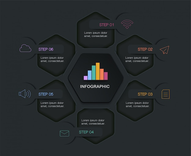 Infographic,  illustration with text box