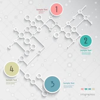 Infographic lattice design