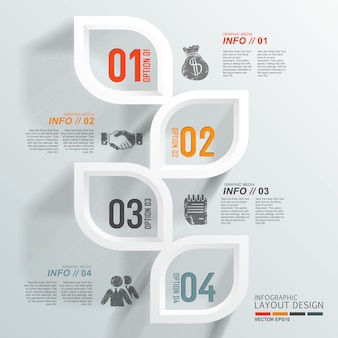 Infographic layout design background