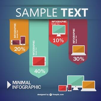 Infographic minimal style