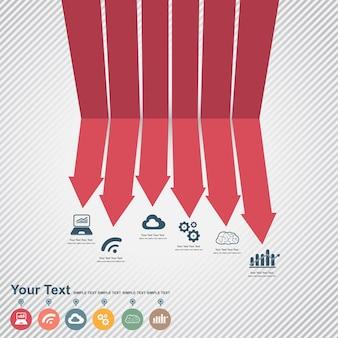 Infographic set illustration