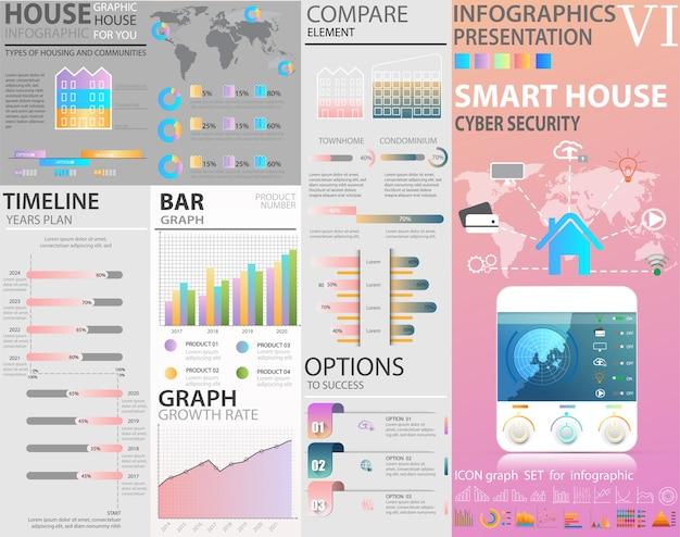 Infographic set