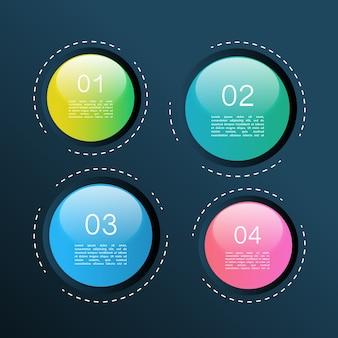 Infographic spheres