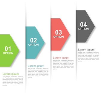 Infographic step up options.