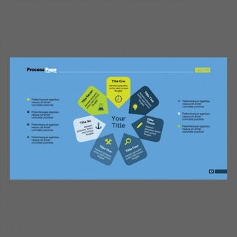 Infographic 템플릿 디자인