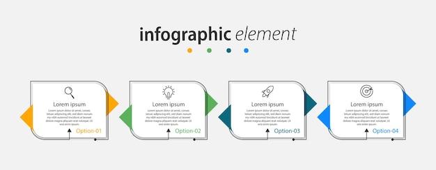 Дизайн шаблона инфографики