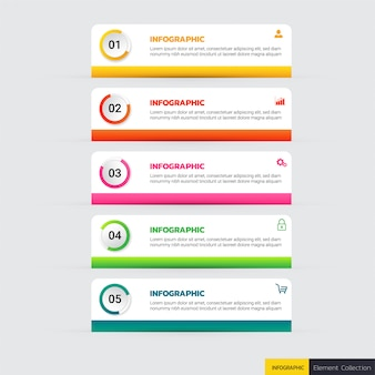 Infographic template options
