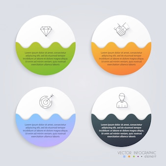Infographic templates for business.  infographics statistic vector.