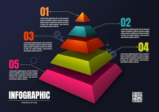 Инфографика бизнес, шаблон дизайна диаграммы процесса для презентации, абстрактные элементы временной шкалы.