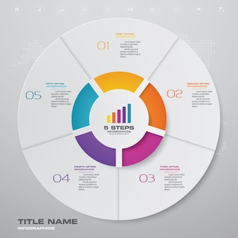 Infographics chart design element