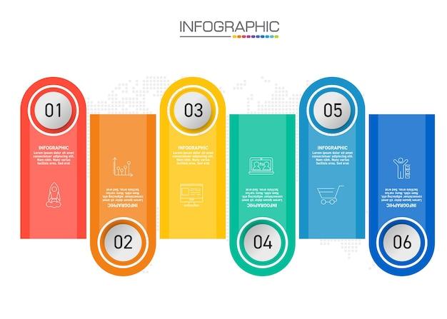 インフォグラフィックデザインマーケティングアイコン付きの4つのステップは、ワークフローレイアウト、図、年次報告書、webデザインに使用できます。