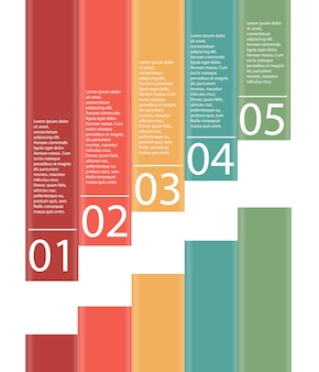 Infographics design elements illustration