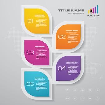 Infographics element.